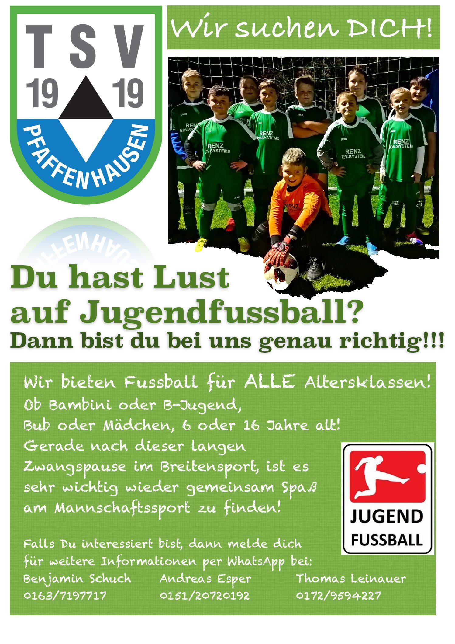 Die D-Jugend befindet sich in der Saison 21/22 in einer SG mit dem SV Breitenbrunn